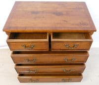 Yew Wood, Georgian Style Chest of Drawers - SOLD